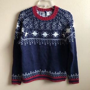 H&M Crew Neck Knit Sweater Top Long Sleeve Winter